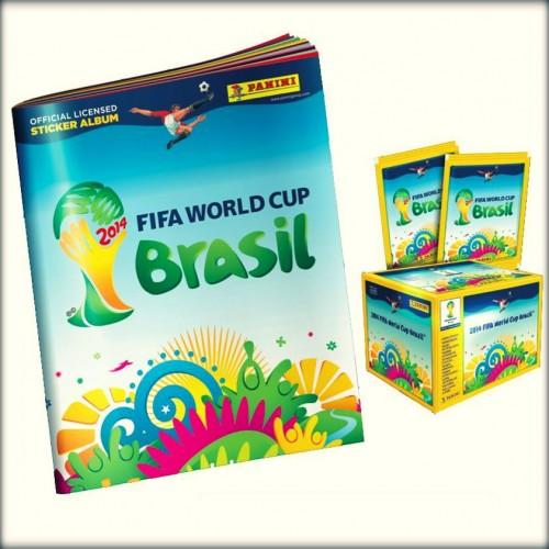 Preço do álbum da Copa do Mundo 2014.