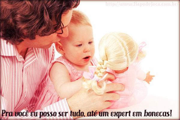 Legenda Para Foto Com Pai E Filha Fiapo De Jaca
