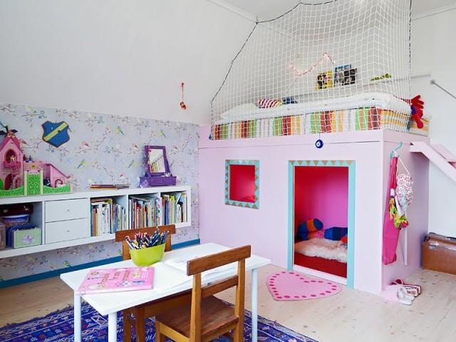 Cama suspensa no quarto das crianças, é seguro?
