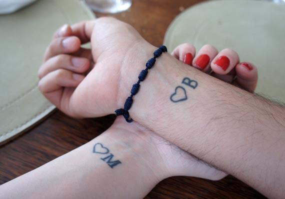 Tatuagens fofas para fazer entre pais e filhos
