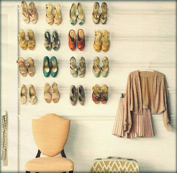 Como organizar meus sapatos de forma prática