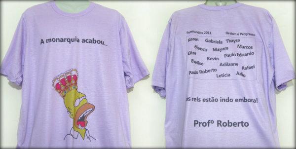 Boas ideias para camisetas de terceiro ano escolar