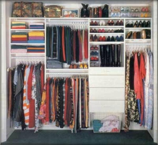 Como montar um closet pequeno em meu quarto