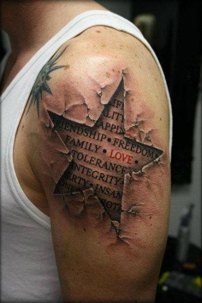 Tatto masculina
