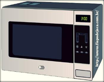 Perigos de ligar o microondas vazio