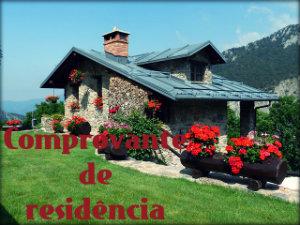 Declaração de residência para terceiros
