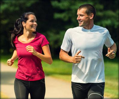Benefícios de correr regularmente.