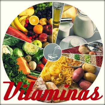 Fontes das vitaminas a, b, c, d, e, k