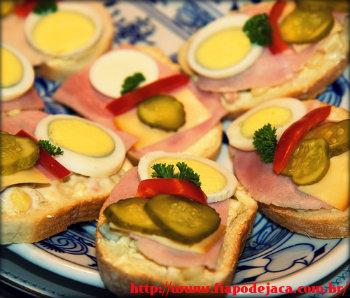 Receitas simples de sanduíches rápidos