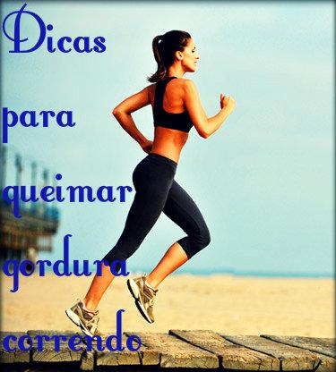 Dicas de treino para corrida e alimentação para aumentar a queima de gordura.