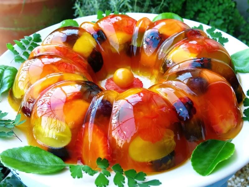 Sobremesas fitness feitas com gelatina