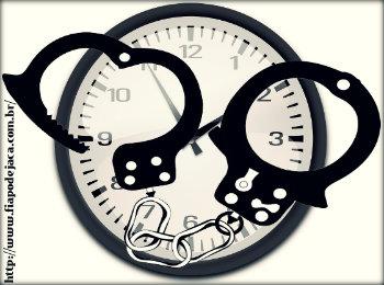 Lei que proíbe a prisão após ás seis da tarde