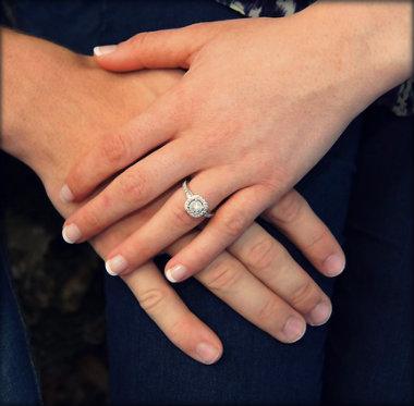 Como escolher o anel de noivado certo