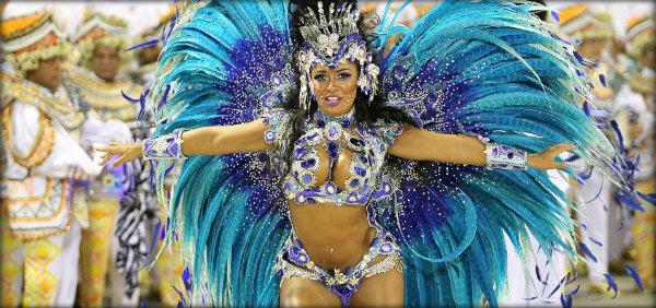 Escola de samba campeã no Rio de Janeiro