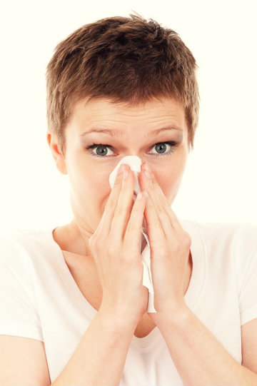 O que provoca o espirro constante?