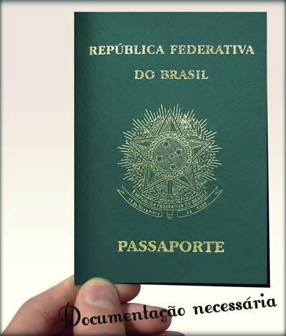 Documentação para retirada de passaporte