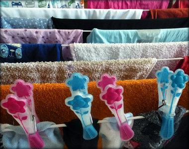 Como colocar roupas pra secar durante os períodos de chuva