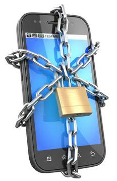 Imagem figurativa do bloqueio em celulares Android.