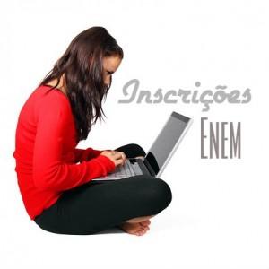 As inscrições para o Enem já estão abertas.