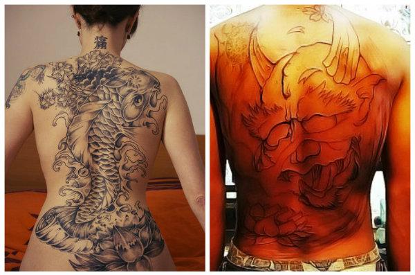 Rascunho de tatuagem  (Foto: Reprodução)